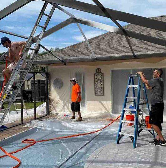 Patio Enclosure Repair Service