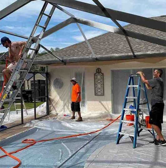 Patio Enclosure Repair Service
